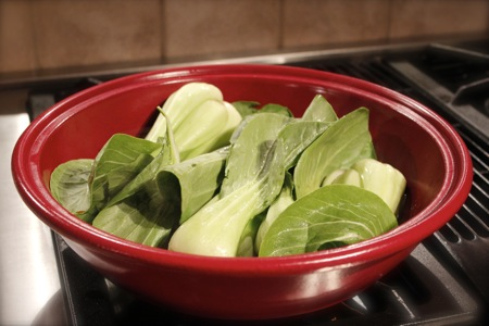 Braised Baby Bok Choy With Garlic, Ginger, And Soy Recipe — Dishmaps