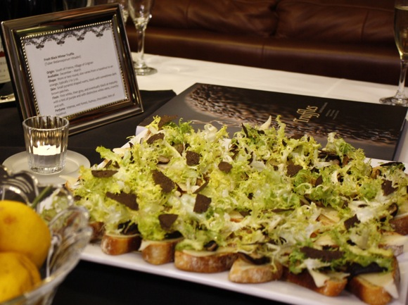 truffle crostini