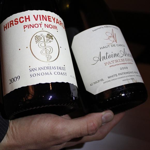hatfield's wine, hirsch pinot noir
