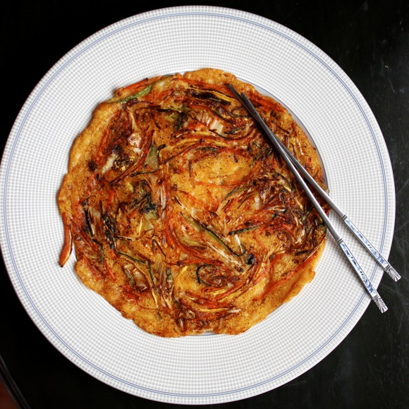 korean pancake, bindaetteok