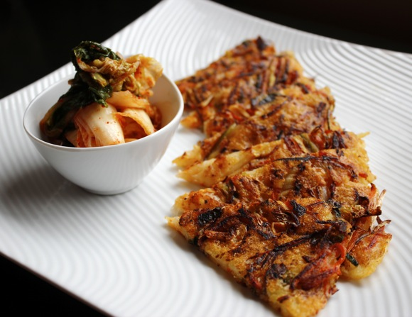 korean pancakes, bindaetteok