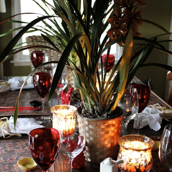 southeast asian table setting