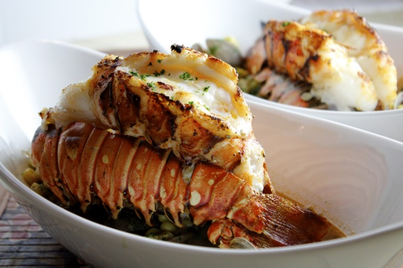 Broiled Lobster Tails, Bobby Flay Recipe