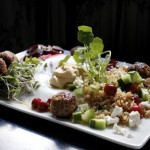 meatballs, quinoa meatballs, meatball landscape, five star cooking group