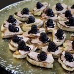 pork pate, blackberry, crostini, pain rustique
