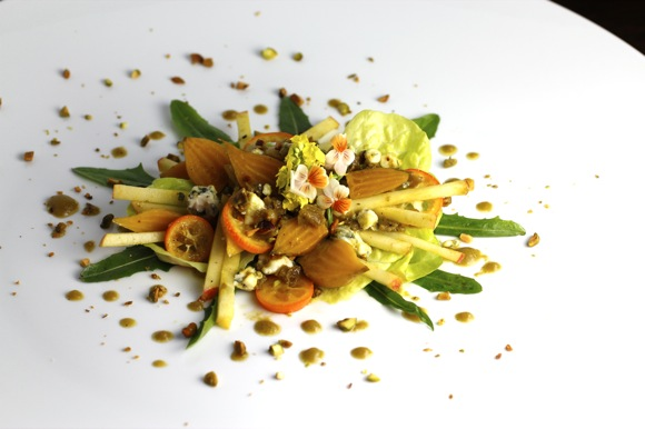 golden beet salad,