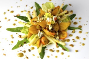 Resplendent Baby Golden Beet Salad