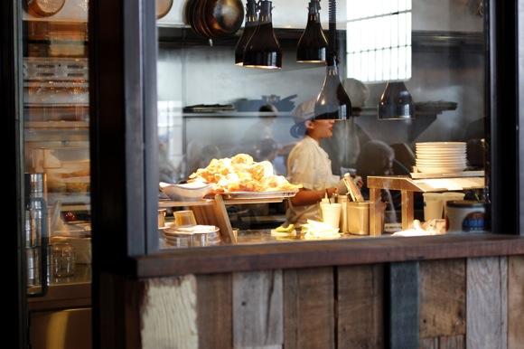manhattan beach post kitchen