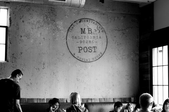 manhattan beach post dining room