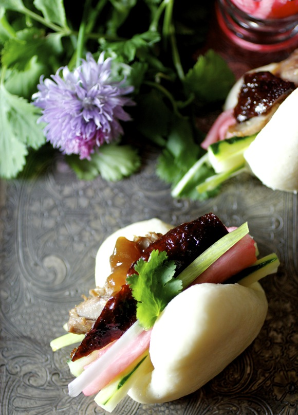 peking duck, steamed buns, wolfgang puck duck, wp24