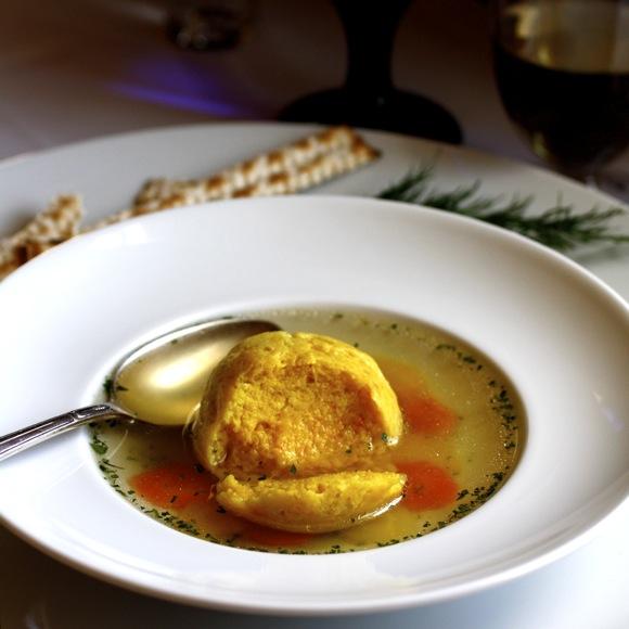 saffron matzo ball passover soup, passover chicken soup, saffron matzah balls