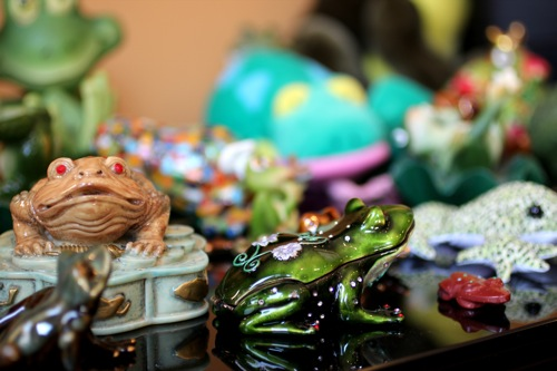 frog collection