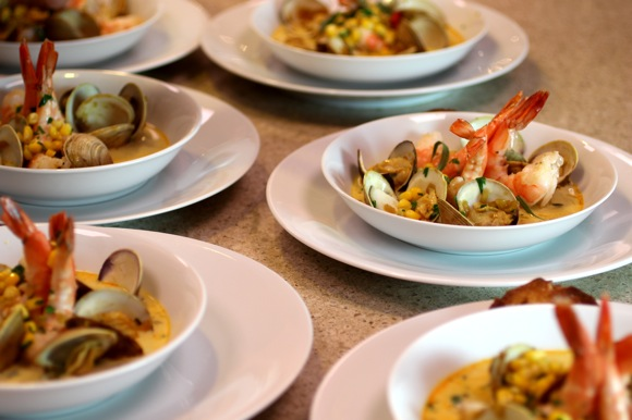 shellfish course