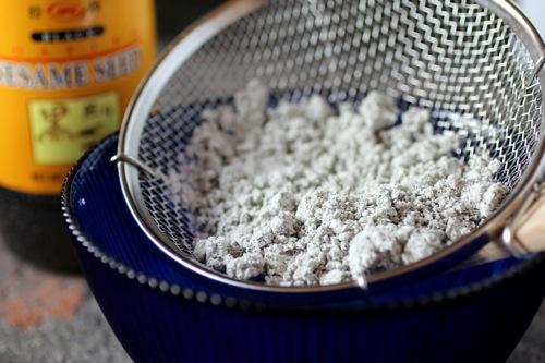 sesame seed ash