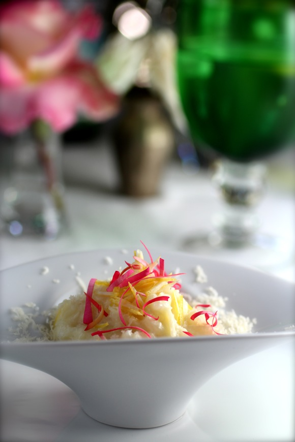 Meyer Lemon & Pink Rose Petal Risotto - Taste With The Eyes Taste With ...