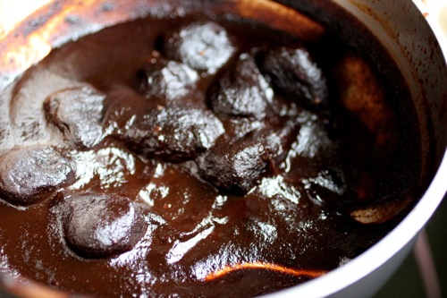 oaxacan mole with black mission figs