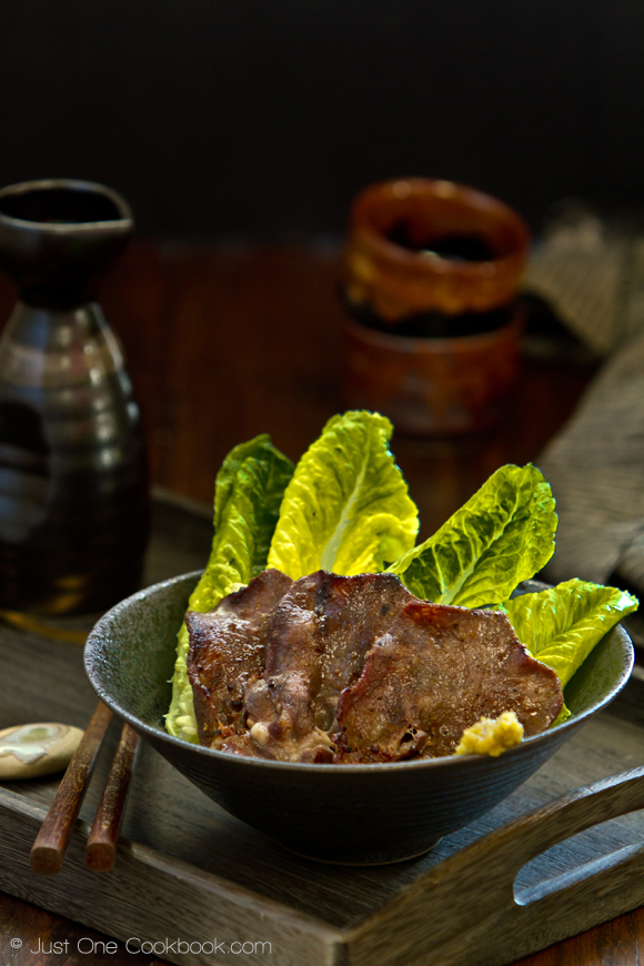 just one cookbook, gyutan, beef tongue
