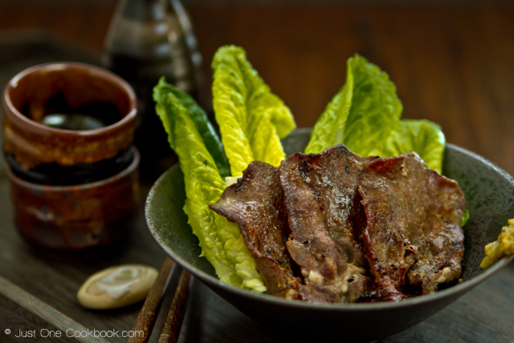 Namiko Chen Grilled Beef Tongue, Just One Cookbook