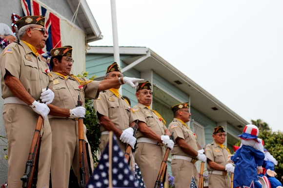 San pedro California Fourth of July Celebration VFW