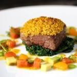 Lamb Curry Quinoa Crust, lean on Lamb, tri-lamb