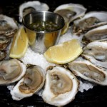 oysters, julia child lunch in rouen