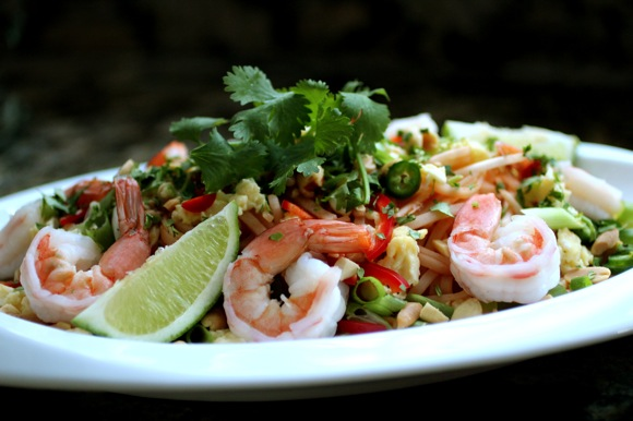 how to make shrimp pad thai