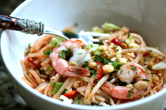 best shrimp pad thai recipe