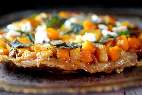 savory autumn tarte tatin recipe