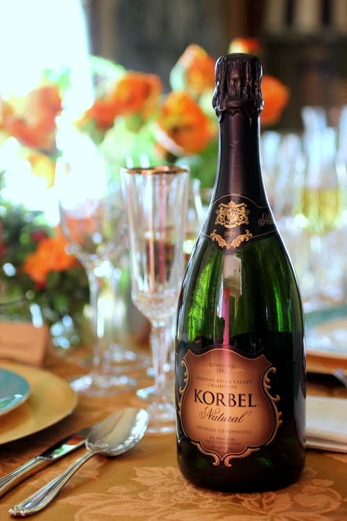 Korbel Natural Champagne Inauguration