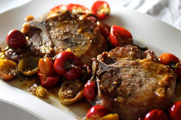 bamonte's pork chops recipe