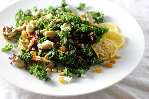 wolfgang puck kale salad