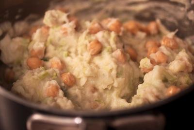chick peas colcannon