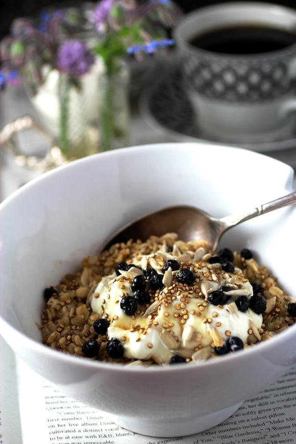 oatmeal toasted quinoa