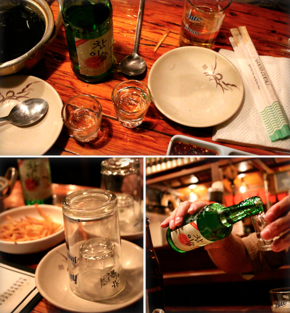 hite and soju at dang sung sa