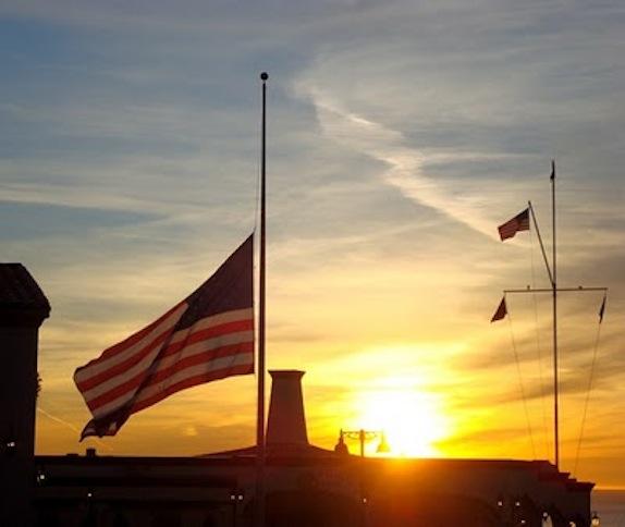Memorial Day Flag Raising