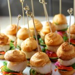 Grilled Scallop Sliders - Banh Mi Style