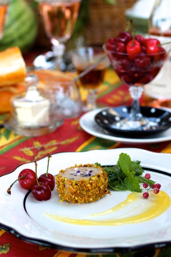 duck foie gras au torchon