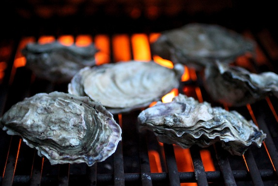 BBQ Oysters, Fanny Bay Oysters