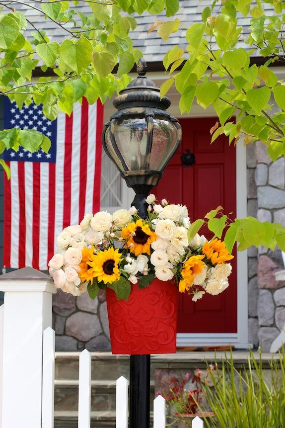 patriotic yard