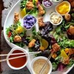 Korean Fried Chicken Salad