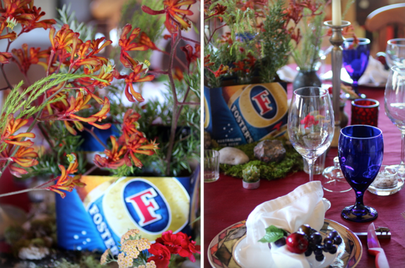 Aussie Table Setting