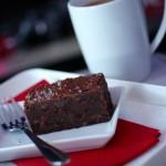 virgin air salted chocolate brownie