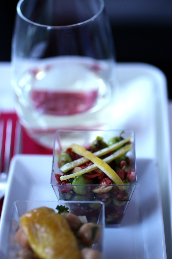 virgin america tapas duo