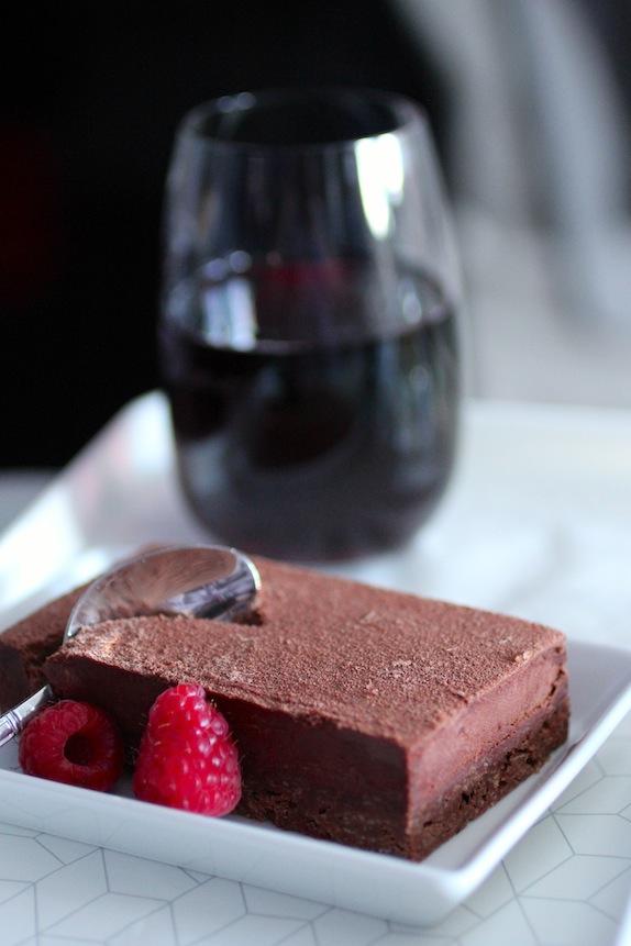 virgin america chocolate triad pave