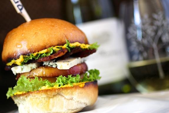 The BLP Sandwich {bacon, lettuce, peach}