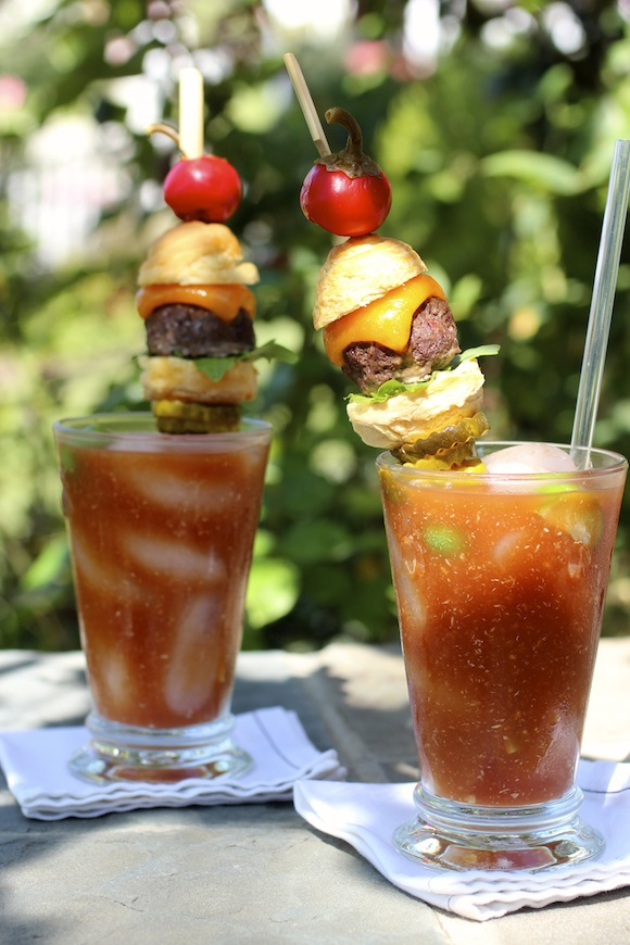 Cheeseburger Bloody Mary by Taste With The Eyes