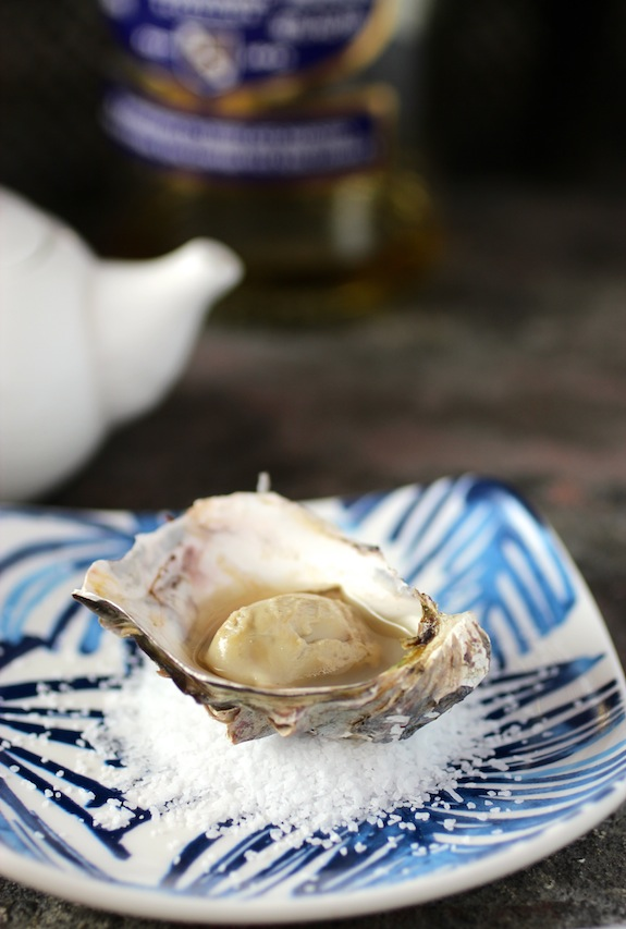 Grilled Oyster with Scotch Whisky