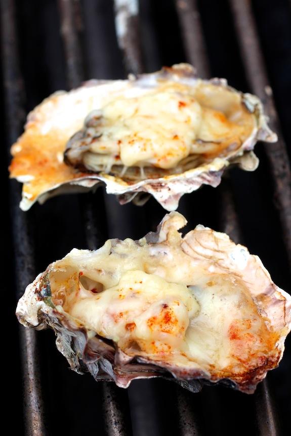 Grilled Oyster - Parmesan, Mayo, Smoked Paprika