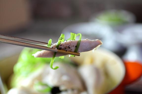 Samgyetang 삼계탕 chicken