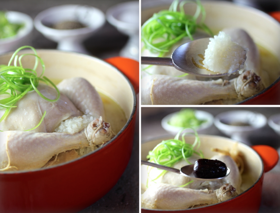 Samgyetang 삼계탕 Korean Ginseng Chicken Soup